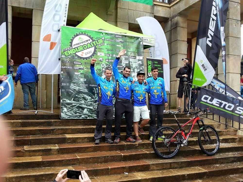 Campeones de Asturias de Enduro 2015