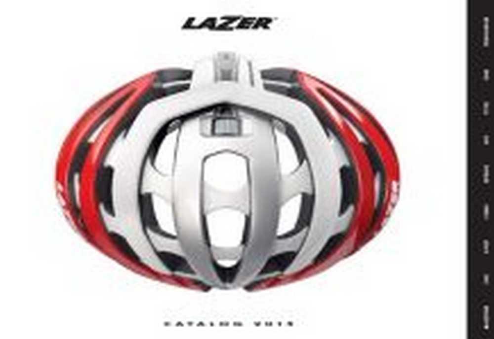 Catálogo Cascos Lazer 2015