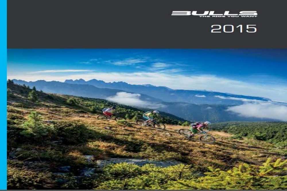 Catálogo bulls bikes 2015