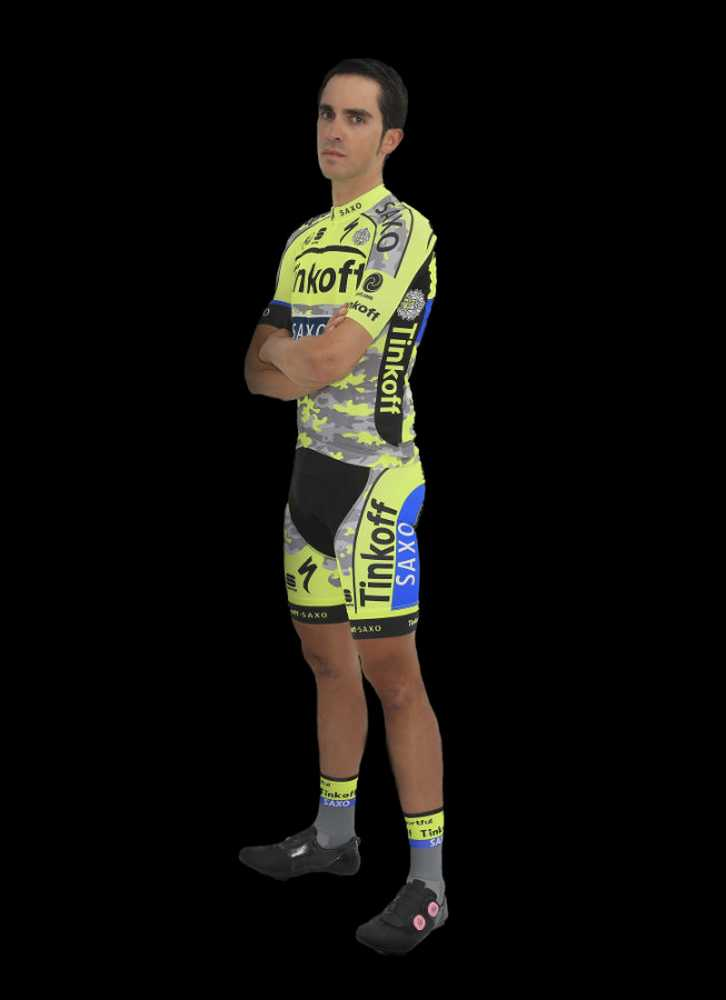 Equipación Alberto Contador Tour 2015