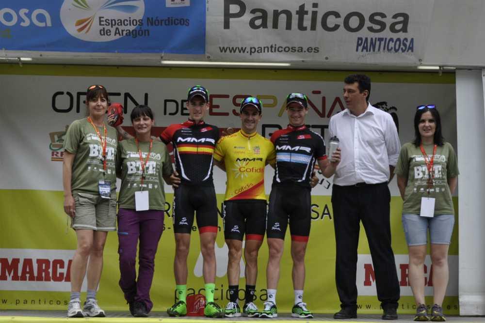 Elite podio Open de España XCO Panticosa