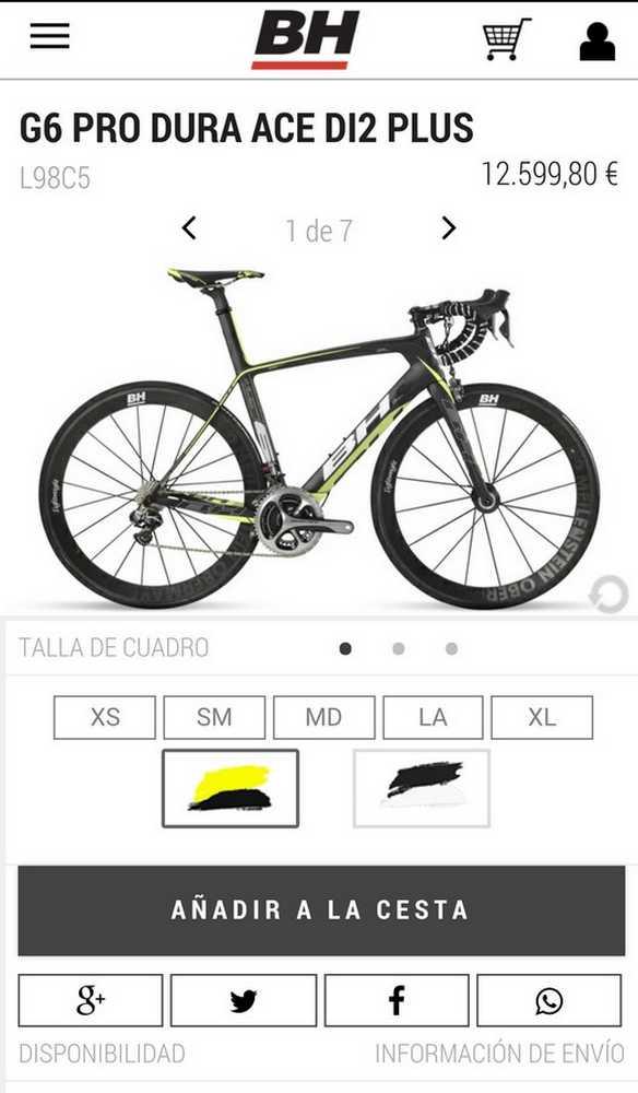 Ficha BH Bikes