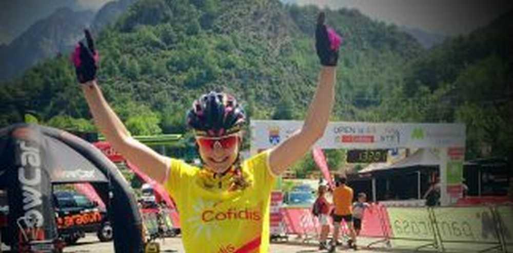 Lucia Vazquez vencedora del Open de España Cofidis