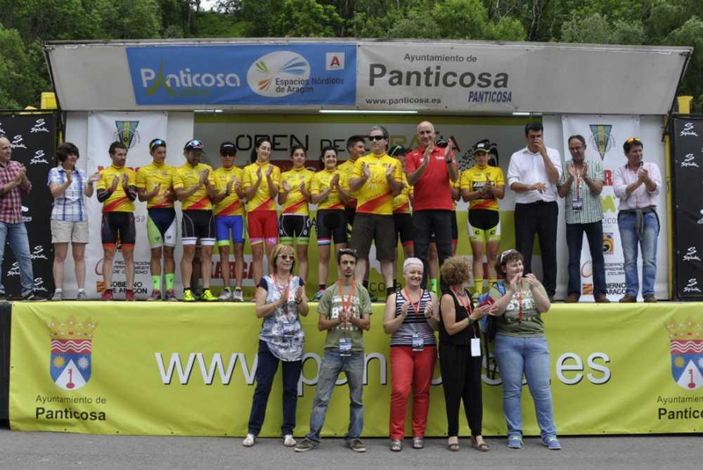 Podio todos los ganadores Open de España XCO Panticosa
