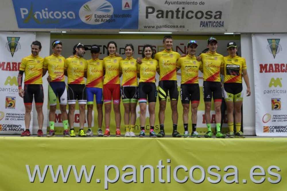 Podio todos los ganadors Open de España XCO Panticosa
