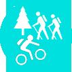 en bicicleta el campo es de todos