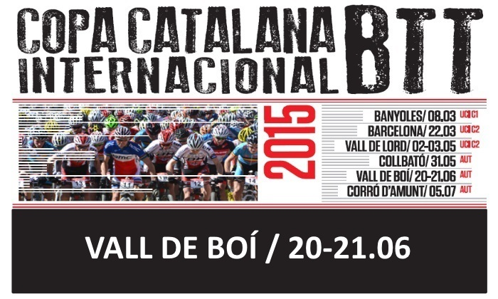 opa Catalana Internacional de BTT Vall de Boí 2015_cartel