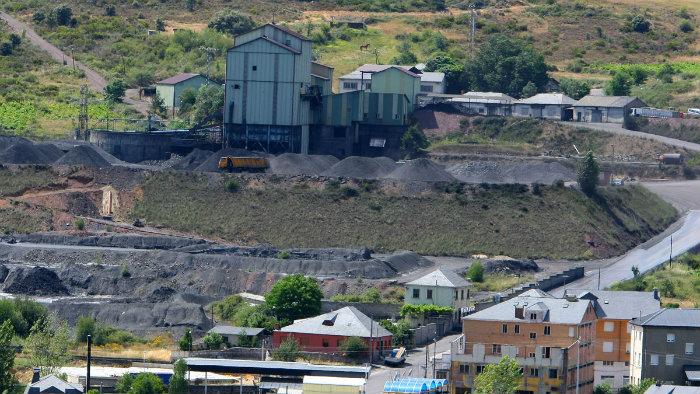 planta carbon Ruta de la Antracita - II Ruta MTB Villa de Fabero (León)
