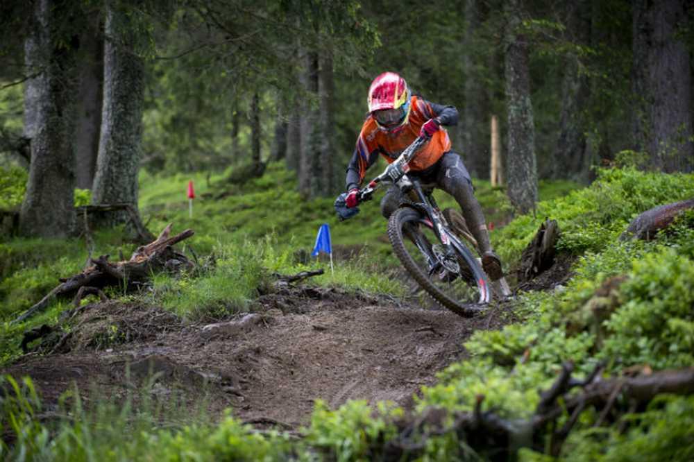 Anneke Beerten UEC Enduro European Championships en el Tirol, Kirchberg