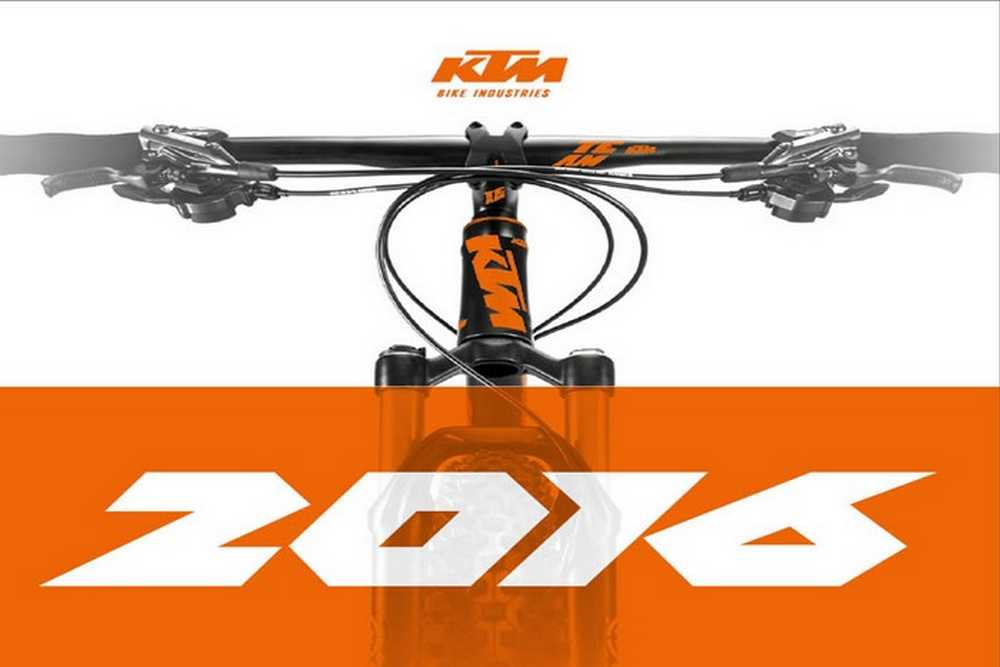 Cátalogo bicicletas KTM 2016
