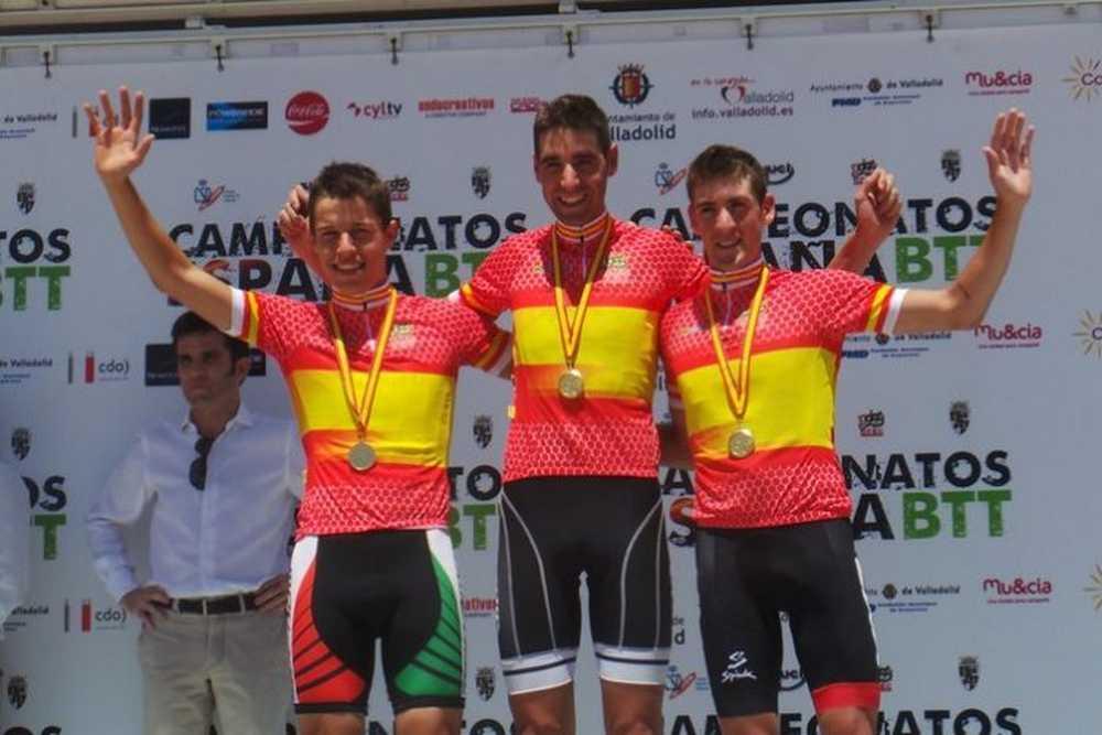 Campeones masculinos Campeonato de España BTT 2015