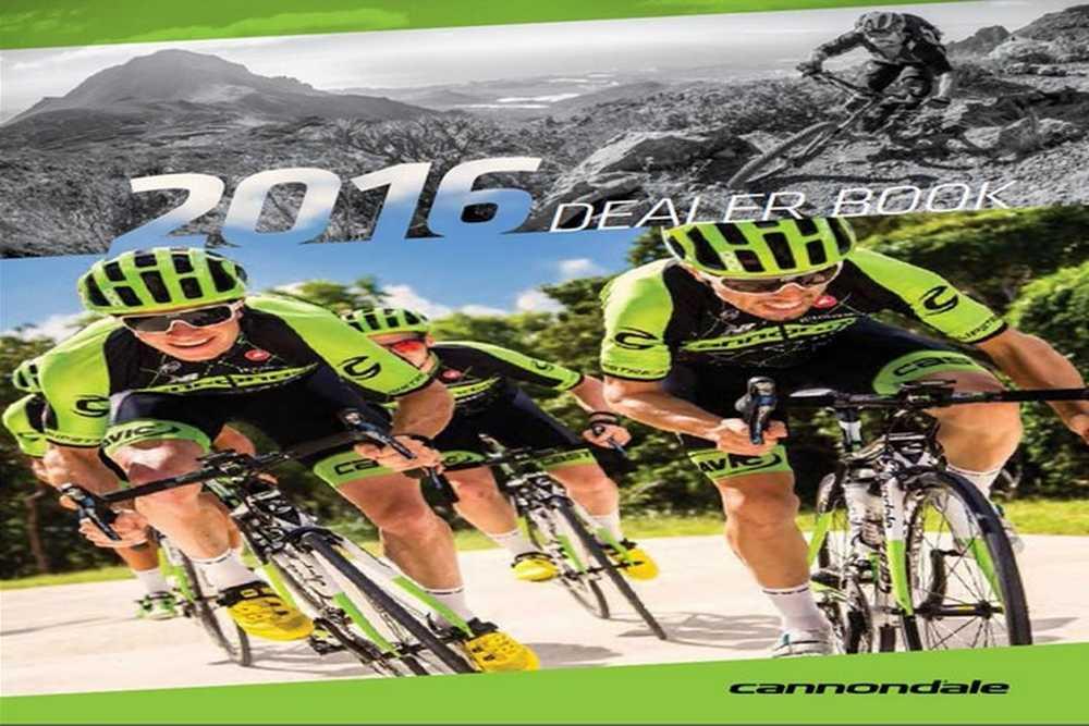 Catálogo bicicletas Cannondale 2016