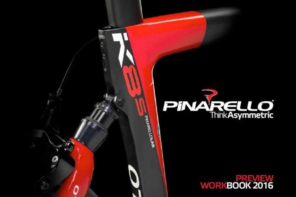 Catálogo bicicletas Pinarello 2016