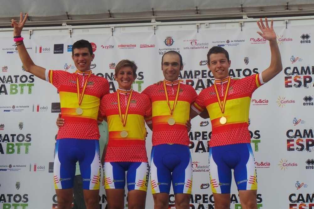 Cataluña Campeona de España de team relay