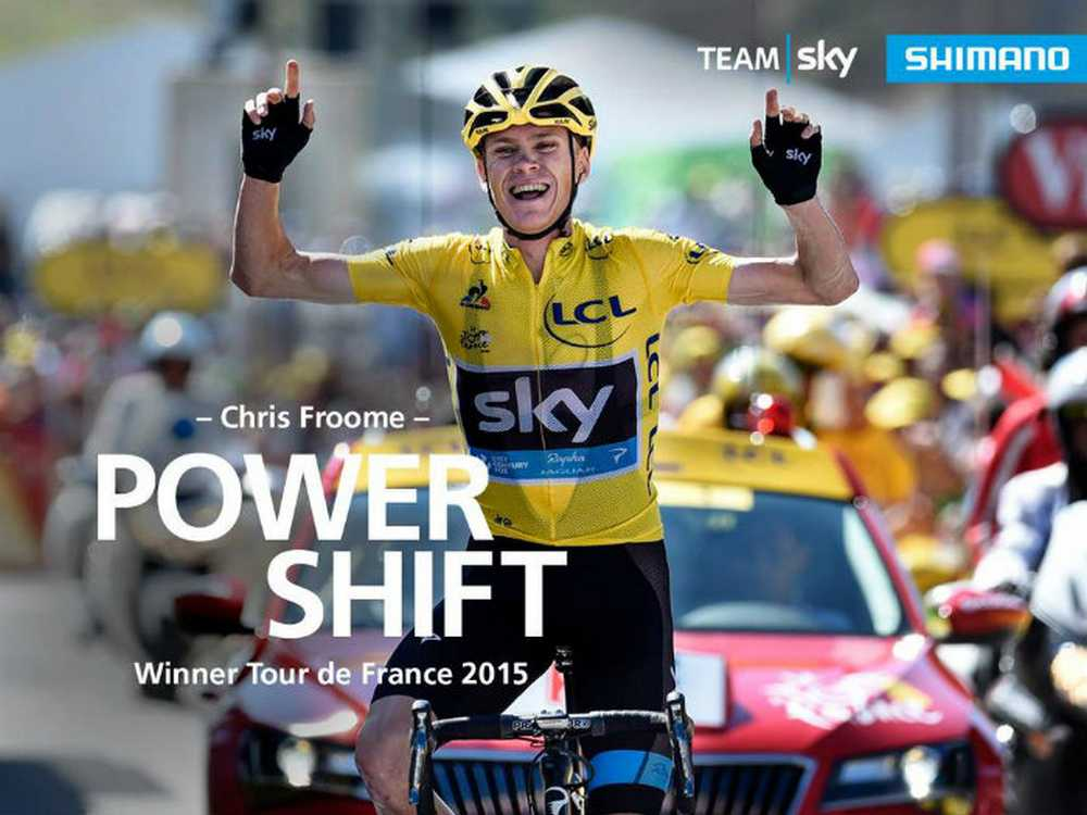 Chris Froome ganador del Tour 2015