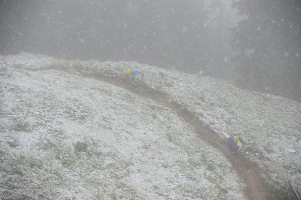 Entrenamientos UEC Enduro European Championships en el Tirol, Kirchberg