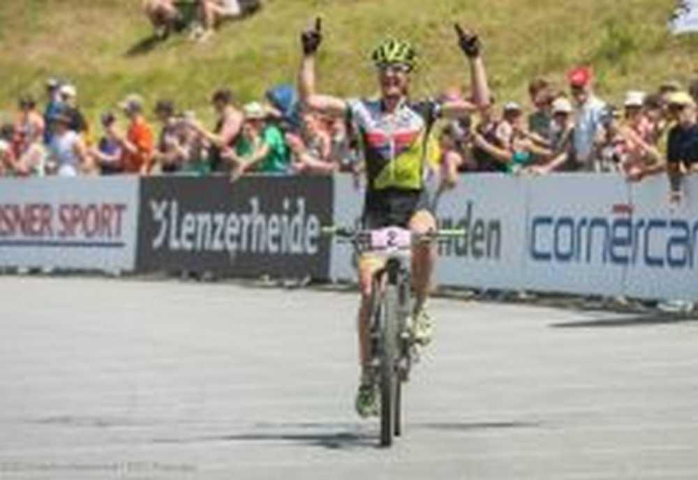 Gunn Rita Dahle Multivan Merida Biking Team Lenzerheide