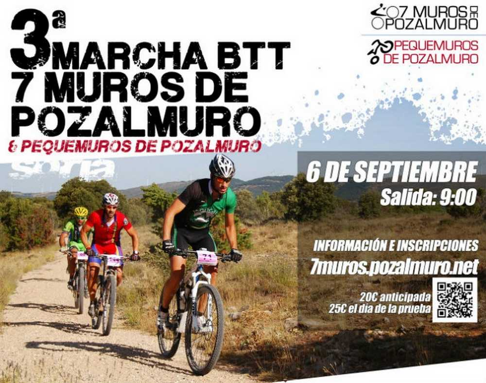 III Marcha III BTT 7 Muros de Pozalmuro (Soria)