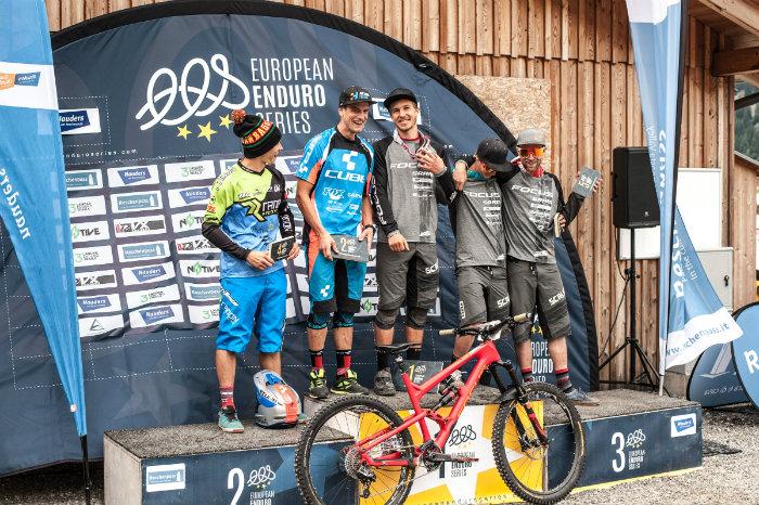 Podio Elite Men 1 Markus Reiser (GER) 2 Gustav Wildhaber (SUI)  3 Tobias Reiser (GER) 4 James Shirley (GBR) 5 Fabian Scholz