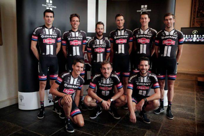 Presentación Tour ETXEONDO y DSM nuevo culote para el Team Giant Alpecin