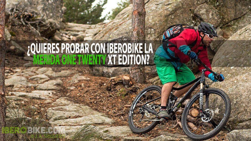 Quieres probar con Iberobike la Merida One Twenty XT Edition
