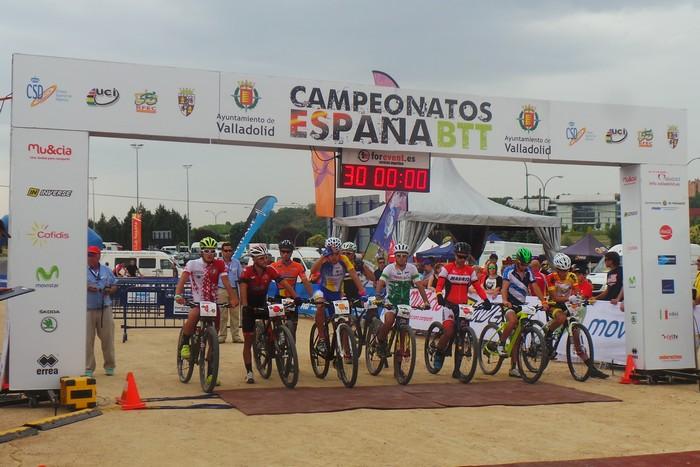 Salida team relay campeonato de españa 2015