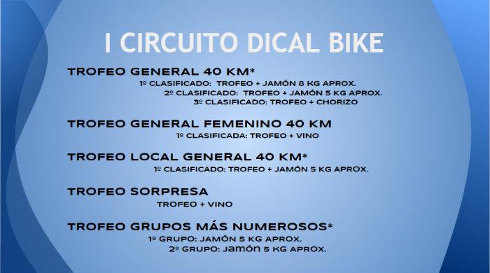 Trofeos I Circuito Dical Bike - Trofeo PRONISA - Burgohondo (Ávila)