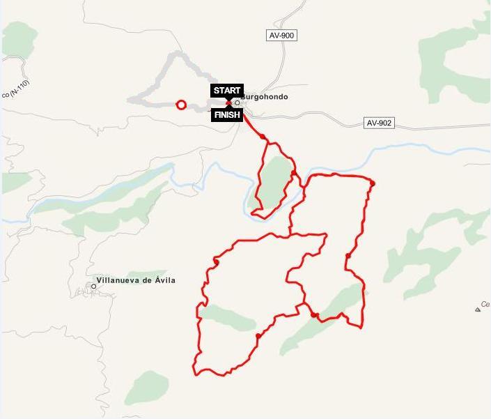 circuito I Circuito Dical Bike - Trofeo PRONISA - Burgohondo (Ávila)
