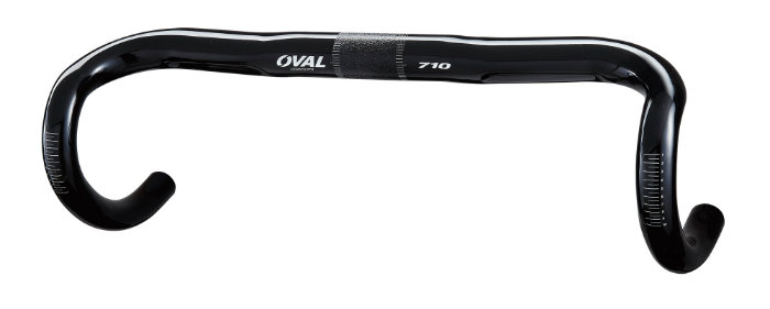 oval 710 Road Bar 420mm Wet Black