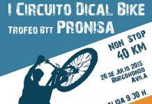 portada I Circuito Dical Bike - Trofeo PRONISA - Burgohondo (Ávila)