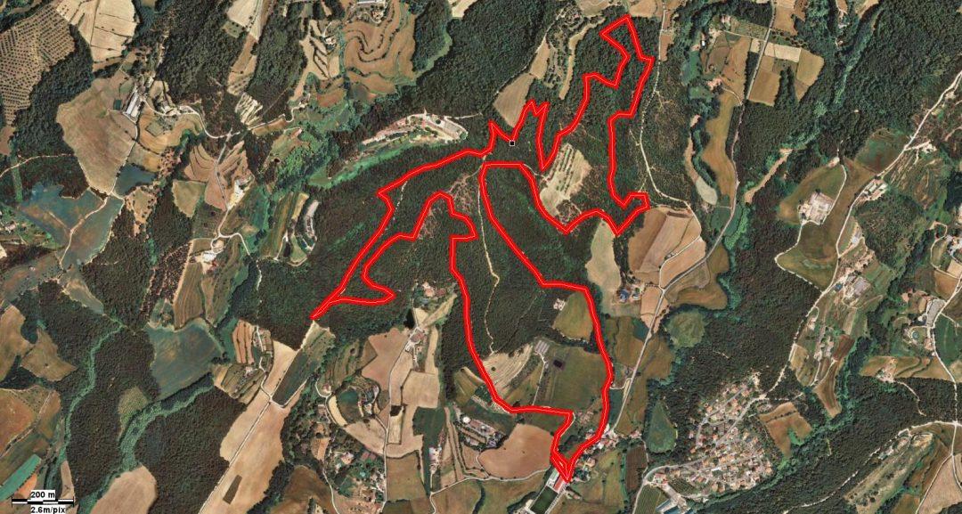recorrido circuito Copa Catalana Internacional  corroamunt