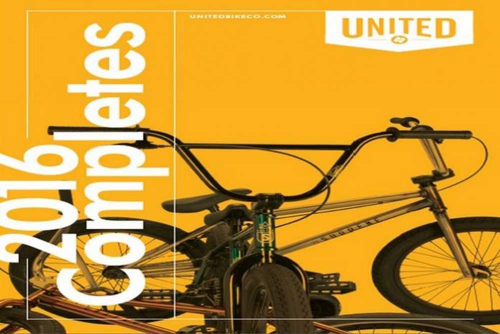 Catálogo United bikes 2016