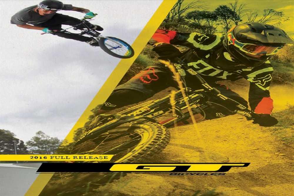 Catálogo bicicletas GT 2016