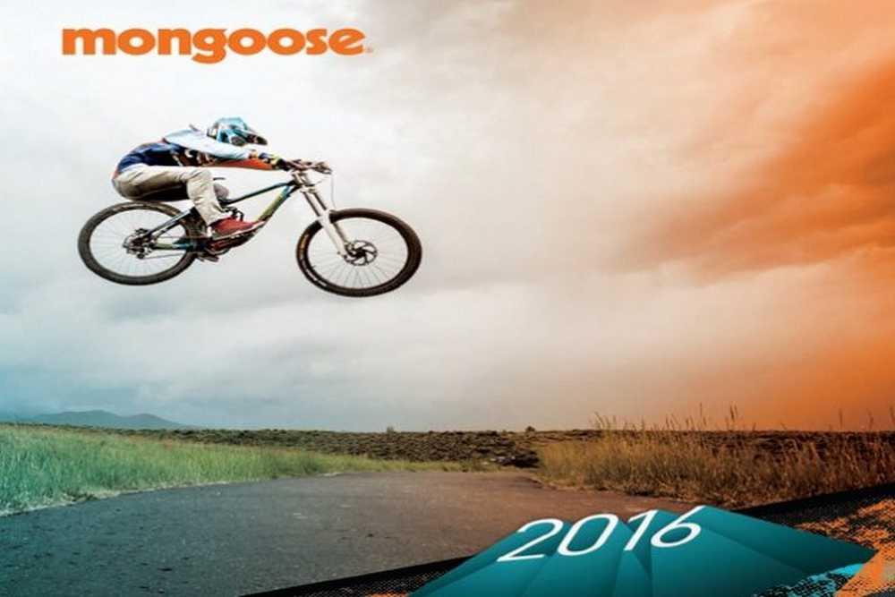 Catálogo bicicletas Mongoose 2016