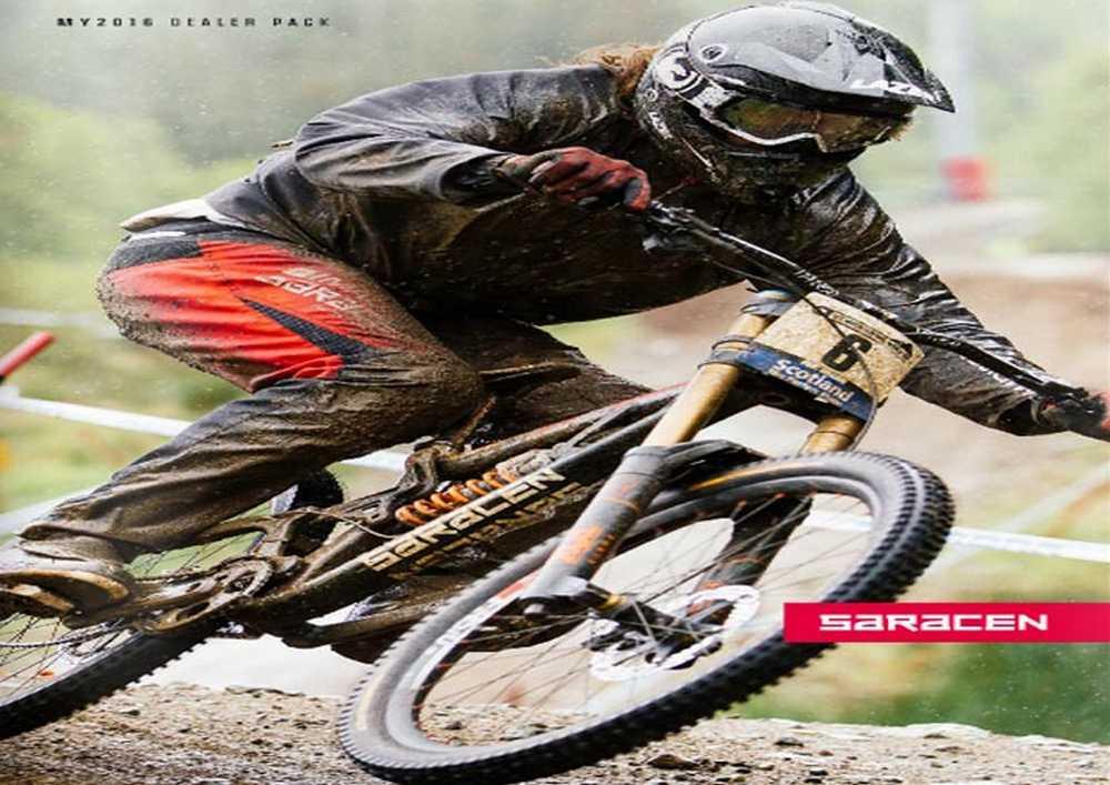 Catálogo bicicletas Saracen 2016
