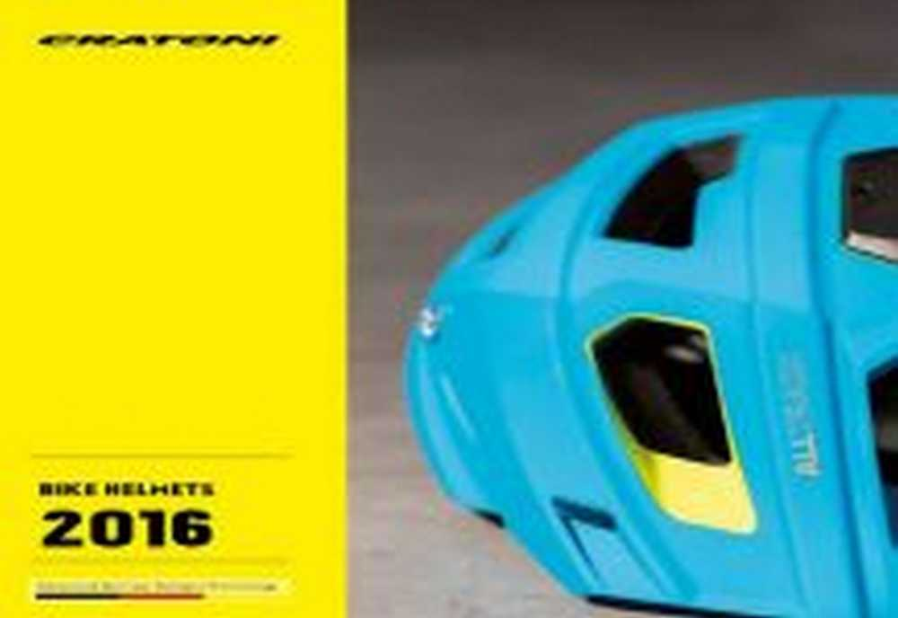 Catálogo cascos Cratoni 2016