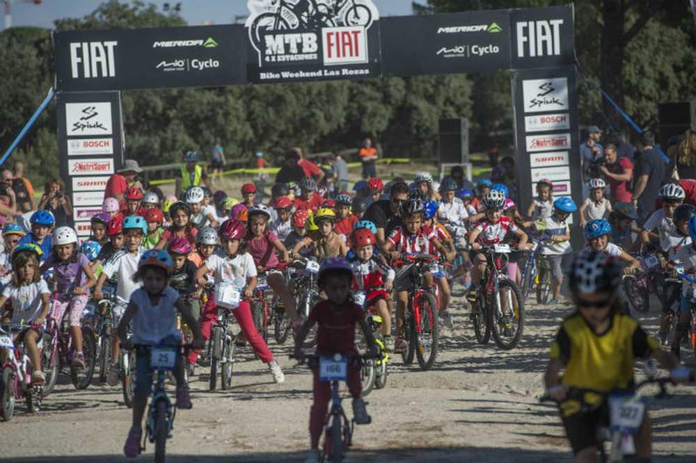 Bike Weekend Las Rozas un éxito con más de 4.000 participantes marcha mtb peques