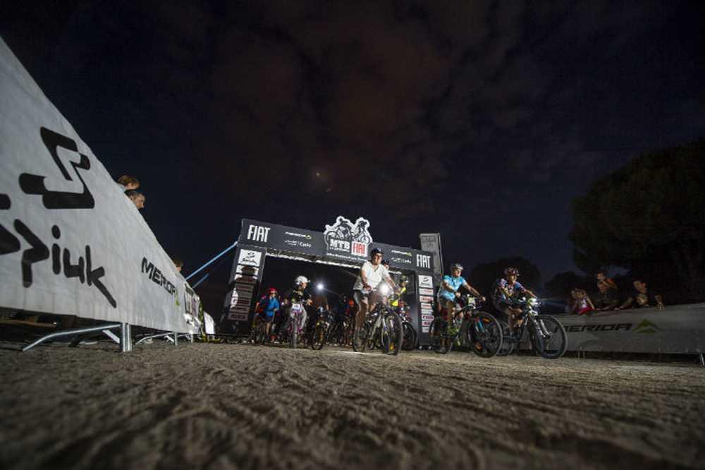Bike Weekend Las Rozas un éxito con más de 4.000 participantes nocturna