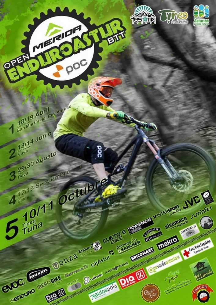 Cartel EnduroAstur Tuña 2015