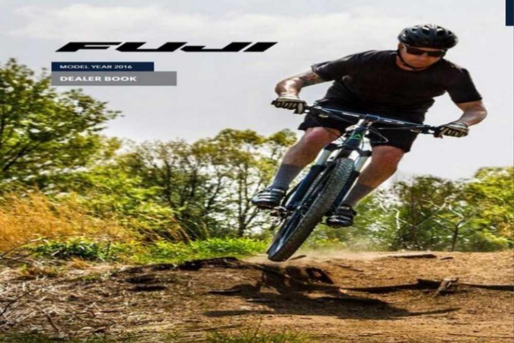 Catálogo bicicletas Fuji 2016