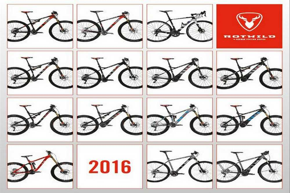 Catálogo bicicletas Rotwild 2016