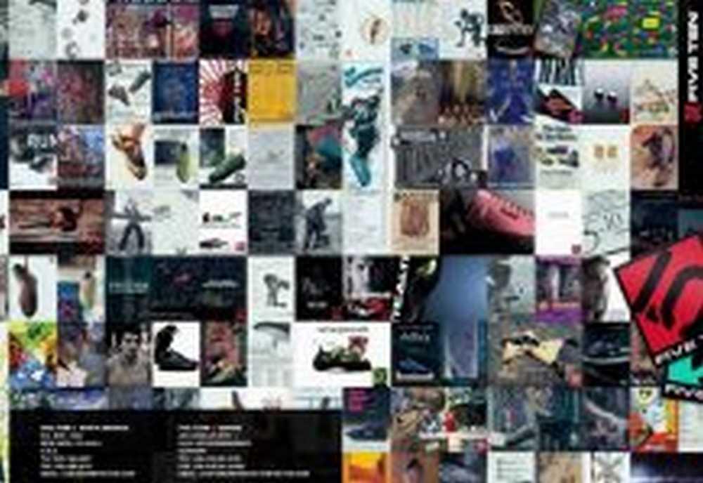 Catálogo zapatillas Five Ten 2016