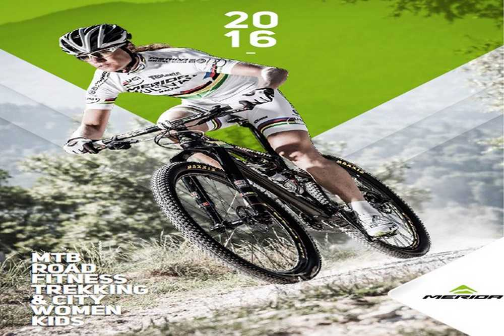 Catalogo bicicletas Merida 2016