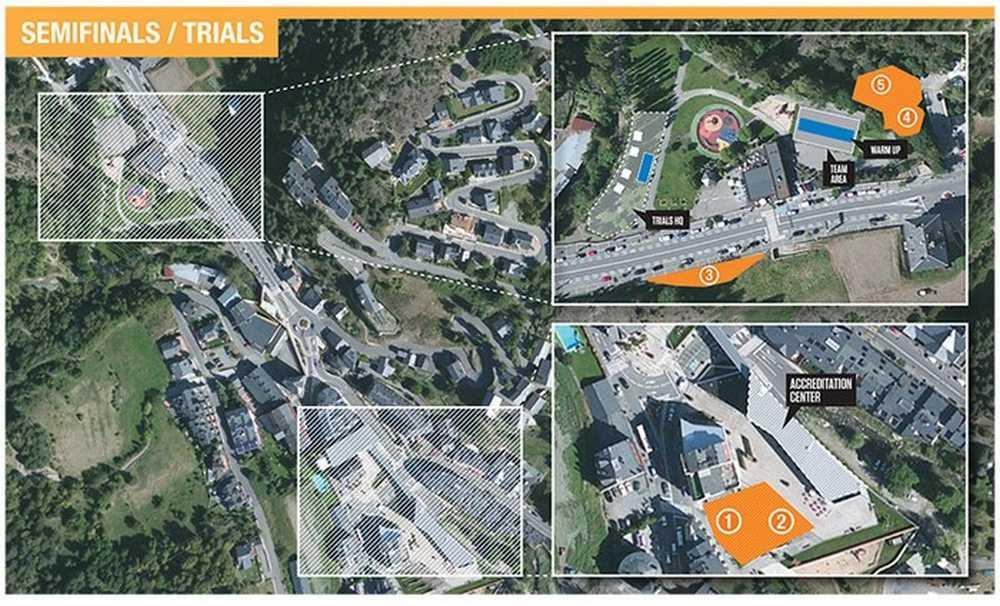 Circuito semifinales Campeonato del Mundo de Trial por naciones en Vallnord
