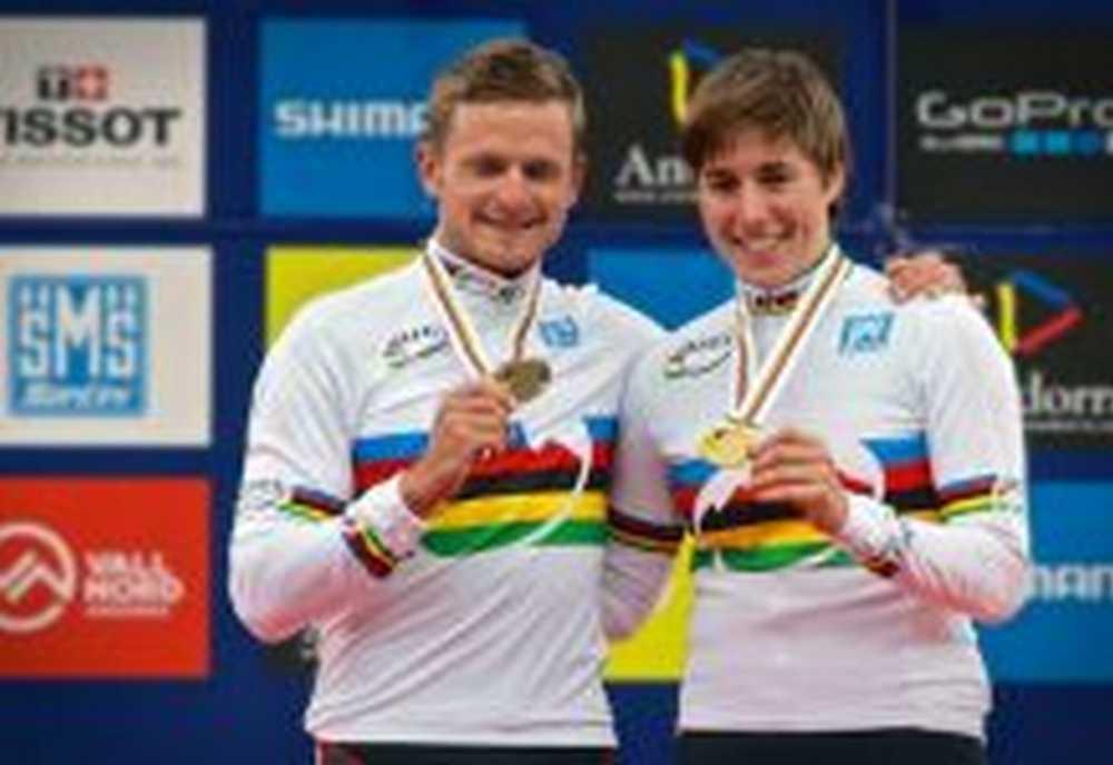 Daniel Federspiel y Linda Indergand, Campeones del Mundo de XCE en los UCI Mountain Bike & Trials World Championships