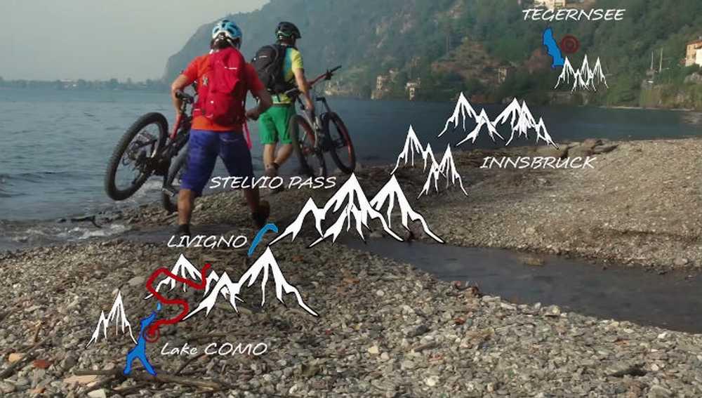 Freride en los Alpes, Reverse Alpine Cross