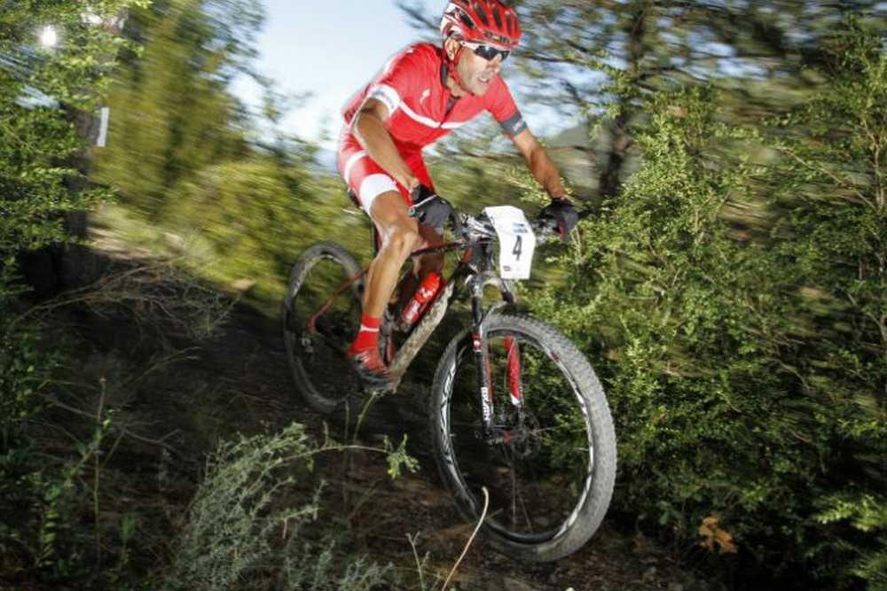 Jose Marquez accion Campeonato de España XCM Bike Maratón 2015