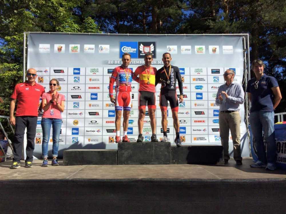 Julián Adrada, campeón de España Master 40B maratón