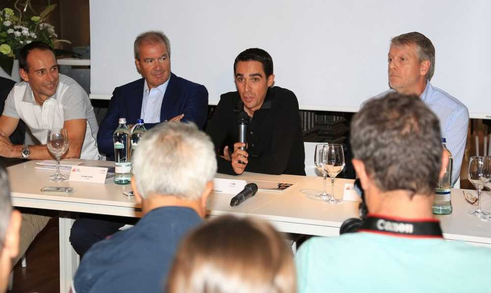 La Fundación Alberto Contador presentó su maillot 2016 con el patrocinio de RH+ y Polartec