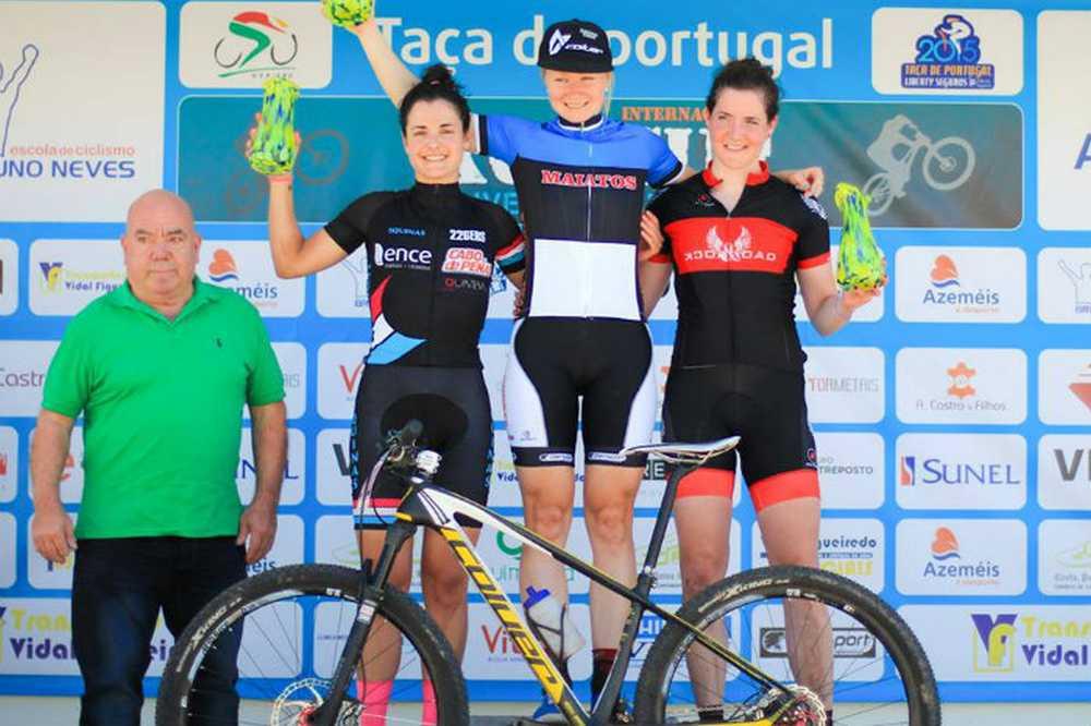 Lucía Vázquez mantiene por un punto el maillot de líder en la Taça de Portugal